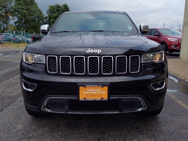 2018 Jeep Grand Cherokee Limited 4x4 In Morristown Nj Beyer Chrysler Dodge